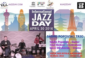 POSTER JAZZ DAY Bitola